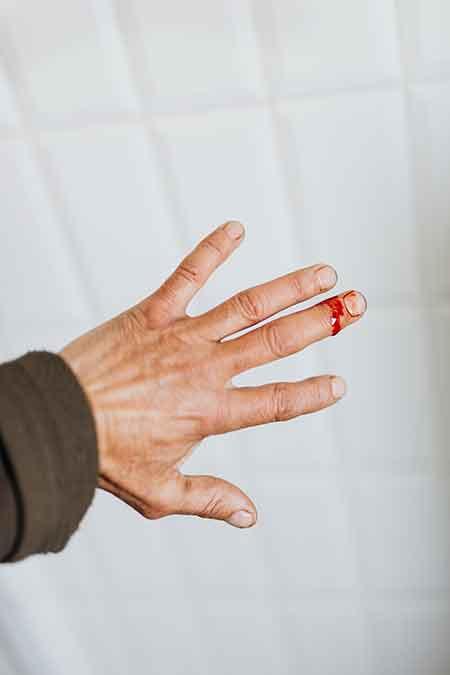 Enlever une tâche de sang