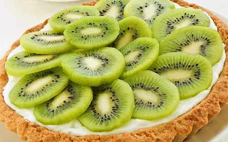 Recette tarte aux kiwis