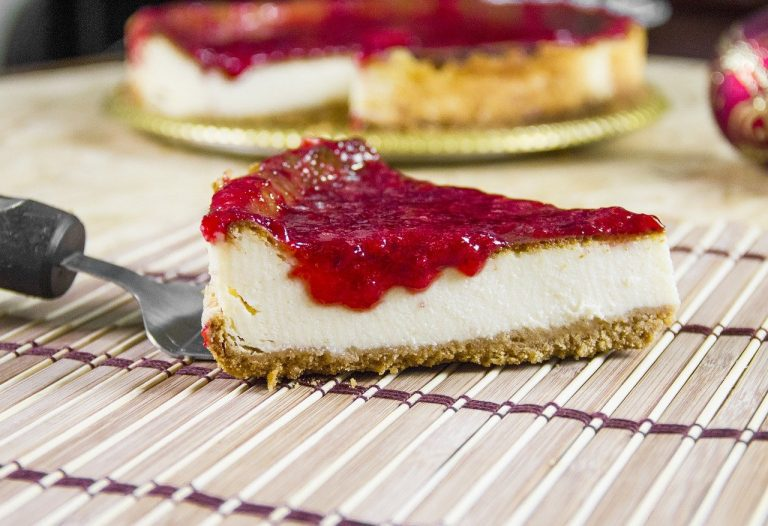 Recette cheesecake coulis fruits rouges